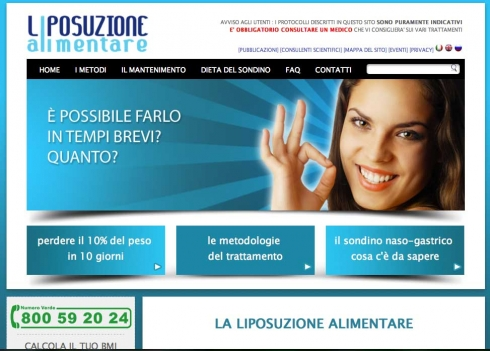 www.liposuzionealimentare.it